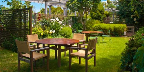 Landscaped Garden Dining Table